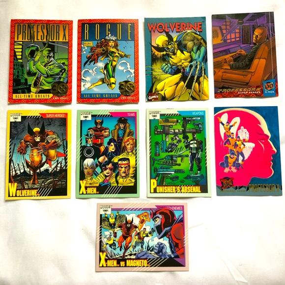 1991-1994 Marvel cards